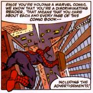 Spidey and his magic briefcase.